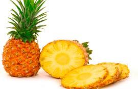 Проявление аллергии на ананасы