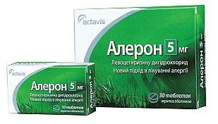На фото препарат «Алерон» - инструкция по применению.