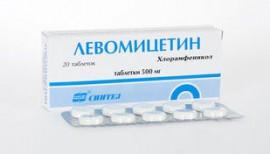 Аллергическая реакция на препарат «Левомицетин»