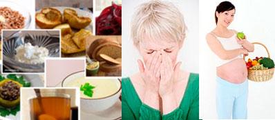 Гипоаллергенная диета для кормящей мамы меню