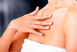 Аллергия на груди, под грудью
