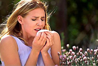 Симптомы аллергии на цветение