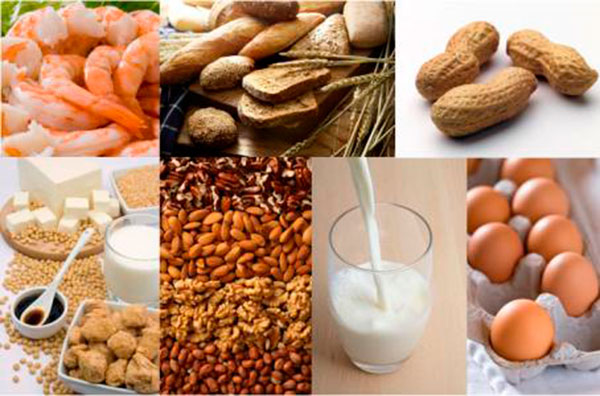 Пищевые аллергены у детей список