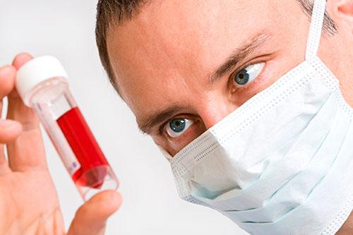 Определение аллергена по крови