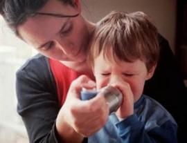 Аллергический бронхоспазм у детей