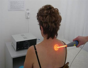 Сеанс ультратонотерапии.