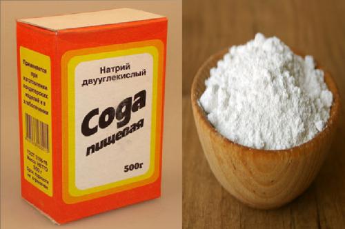 Сода от аллергии на коже
