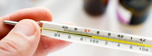 При экземе на языке температура тела может подниматься до 40 градусов