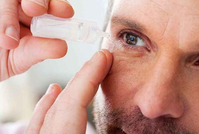 Глазные капли противоаллергические и противовоспалительные