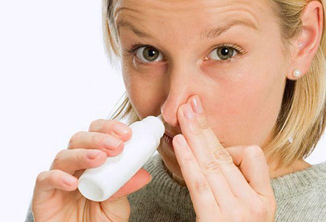 Спрей в нос от аллергии