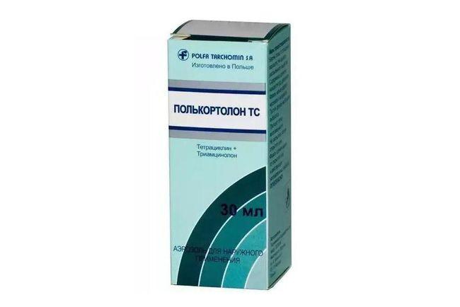 Спрей Полькортолон - сильнейшее оружие против множества дерматологических патологий.