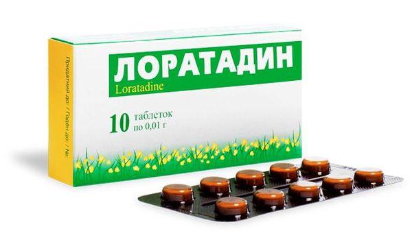 Лоратадин - один из препаратов от аллергической экземы.