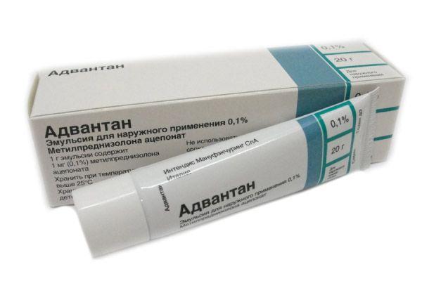 Адвантан - качественная мазь для лечения экземы у ребенка.
