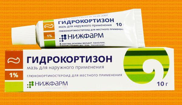 Гидрокортизоновая мазь назначается при бактериальной экземе.