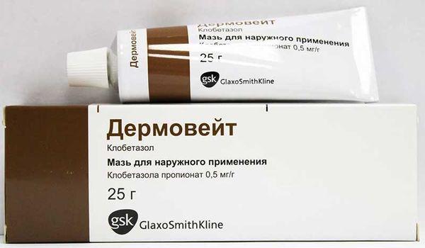 Дермовейт - действующее средство при профессиональной экземе.
